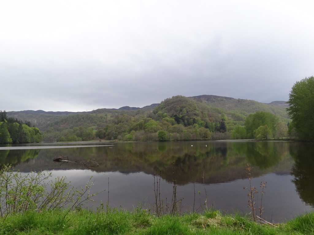 Quiet lake near Pitlochry