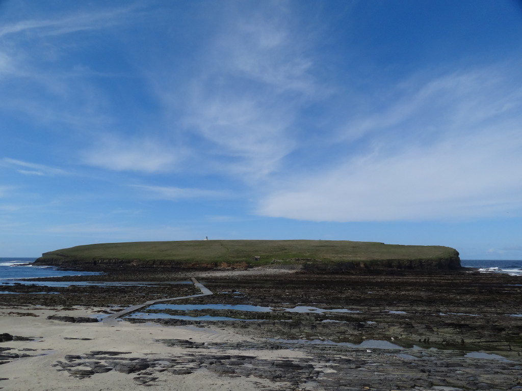 Brought of Birsay, accessible only at low tide