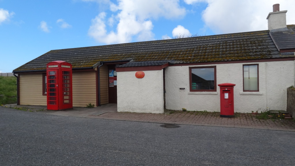Northernmost UK post office