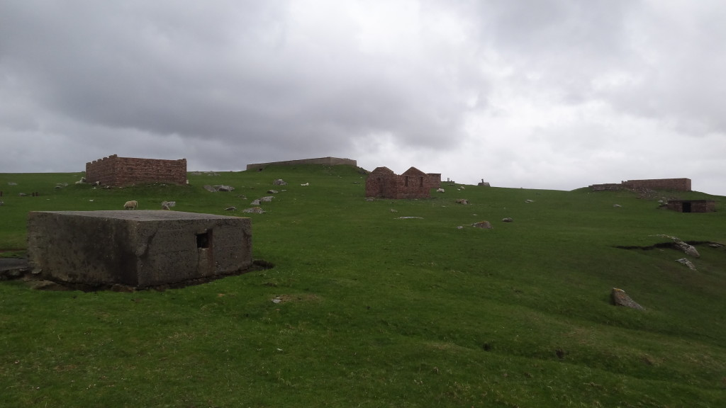 Some of the buildings used in World War II