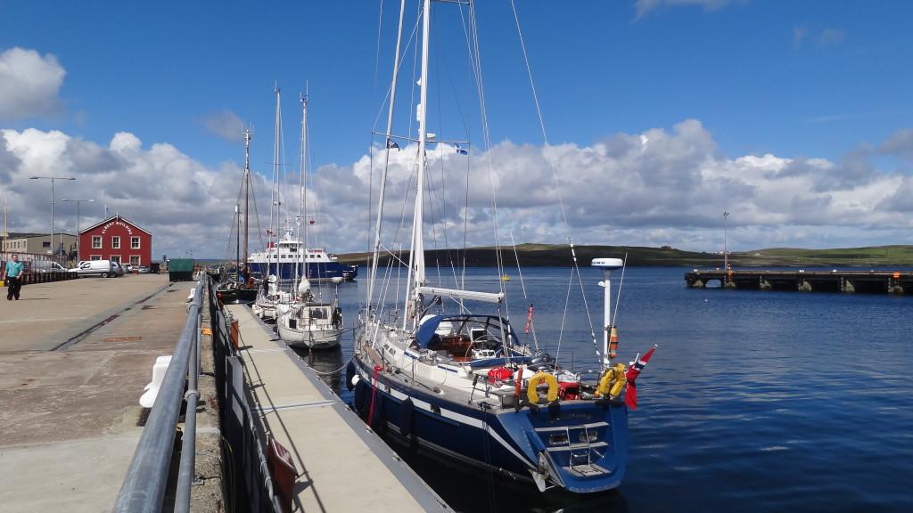 sail boats in the marina