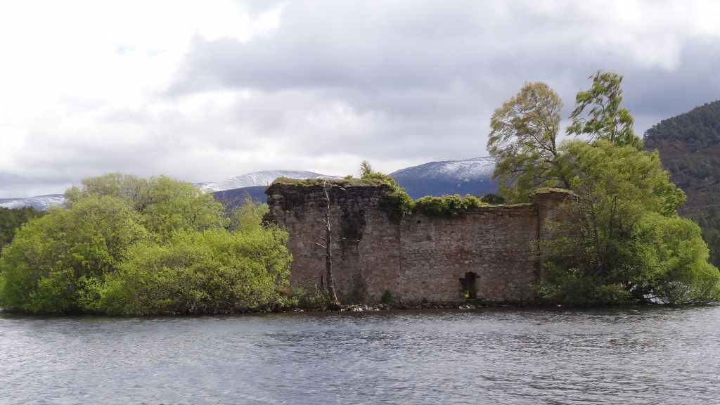 Ruins of the Loch an Eilein Castle