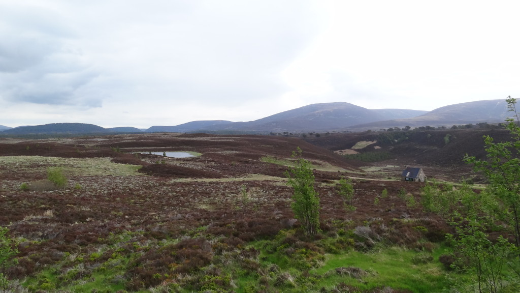 Meall a' Bruhachaille path
