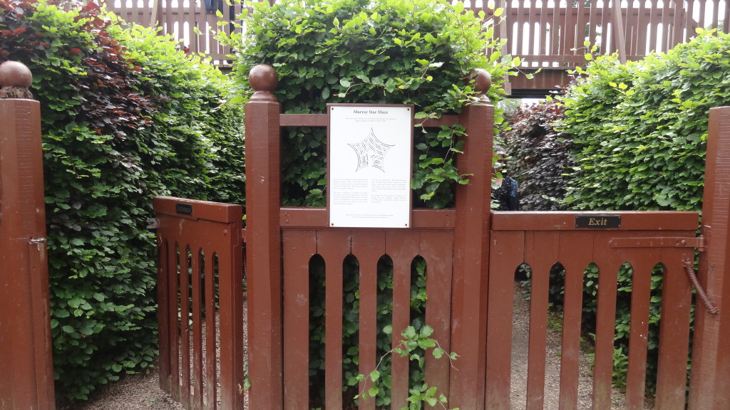 Entrance to the maze