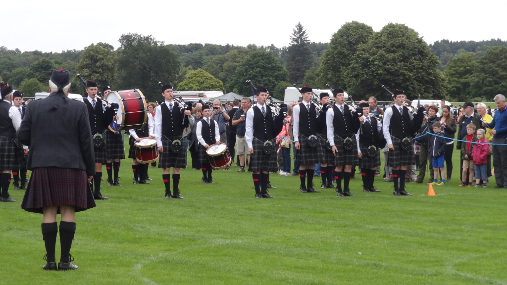 Highland Games bands