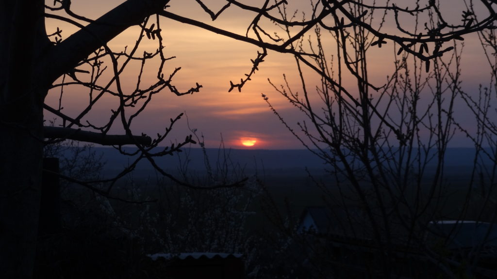 One of the many gorgeous sunsets from CostelHostel