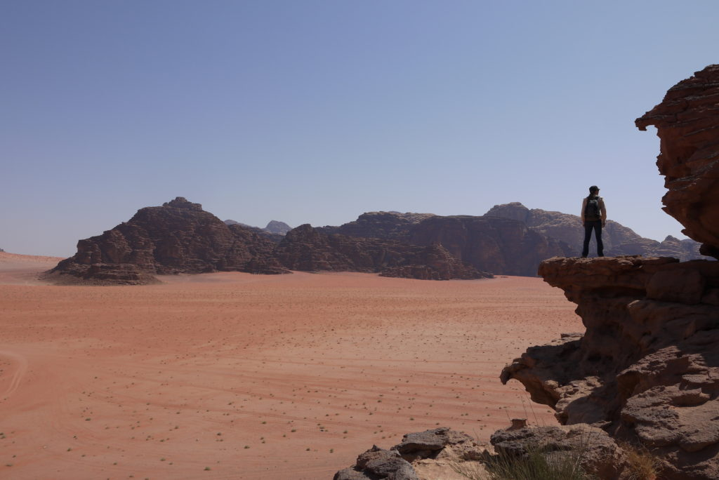 Lovely first stop in Wadi Rum