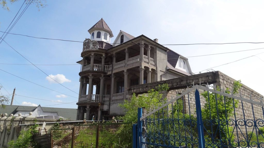 Unfinished house in Soroca