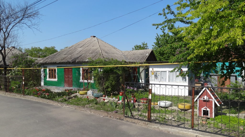 Traditional house in Moldova