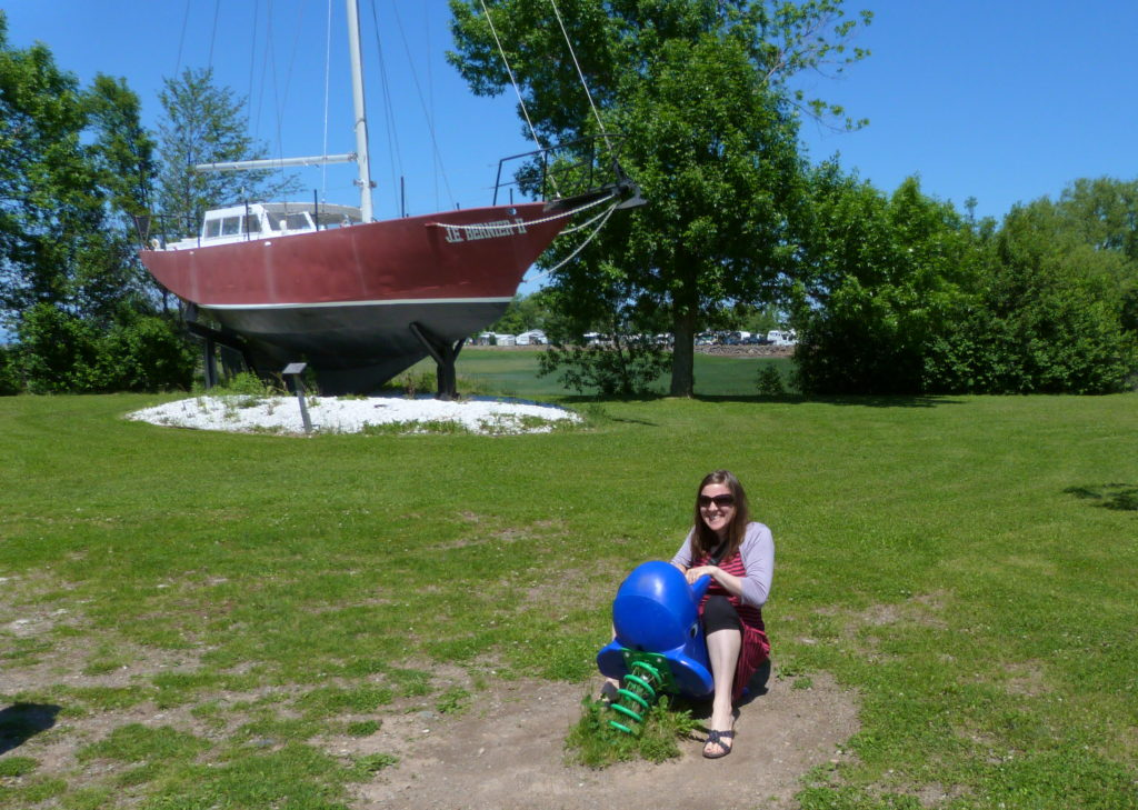 Visiting the maritime museum and the kid's park...