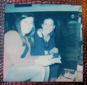 Lovely evening with my childhood friend.Both she and her husband love polaroid.
