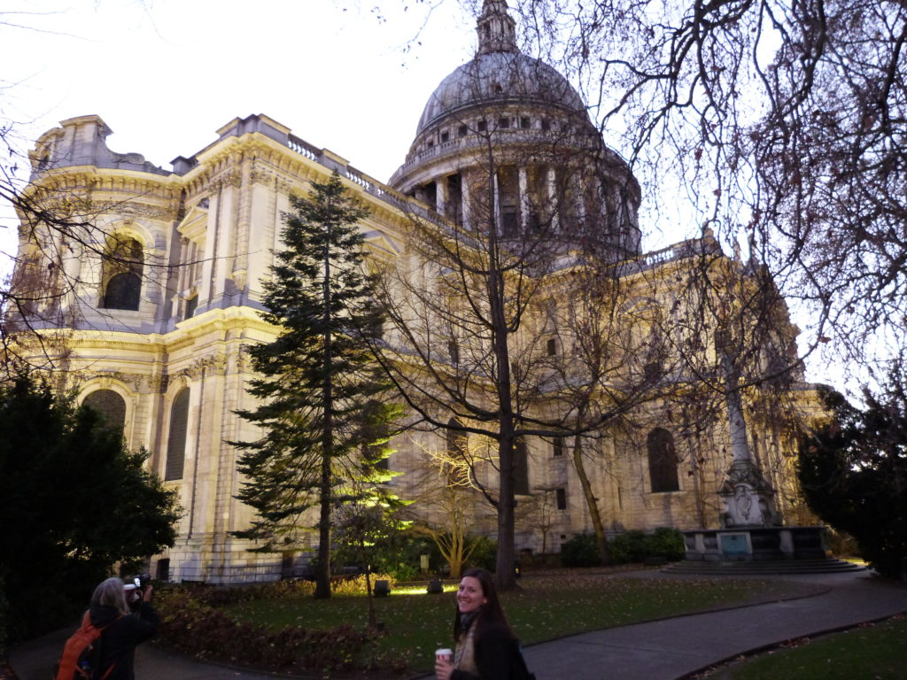 Really happy yo have found coffee next to St. Pauls Cathedral