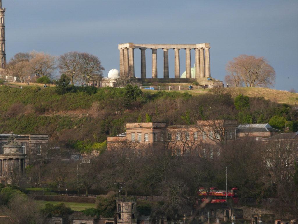 National Monument of Scotland on Calton Hill, Edinburgh
