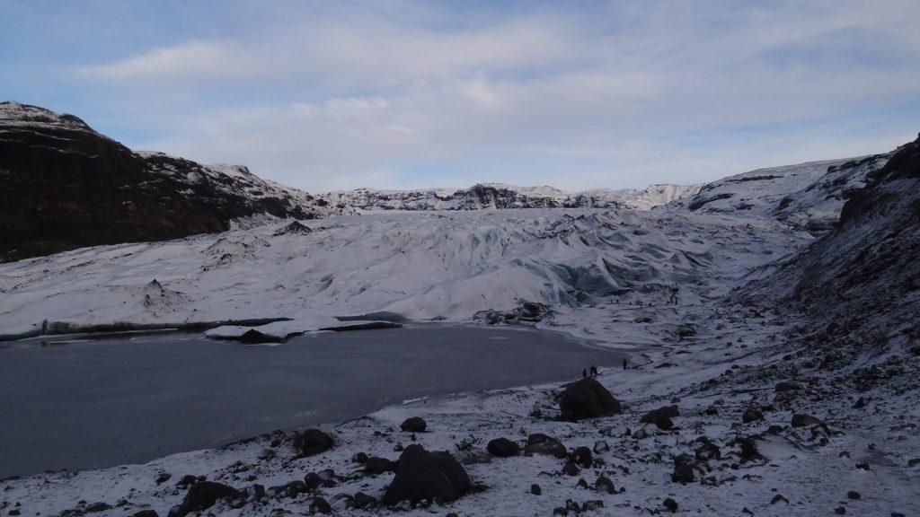 Solheimajakull glacier
