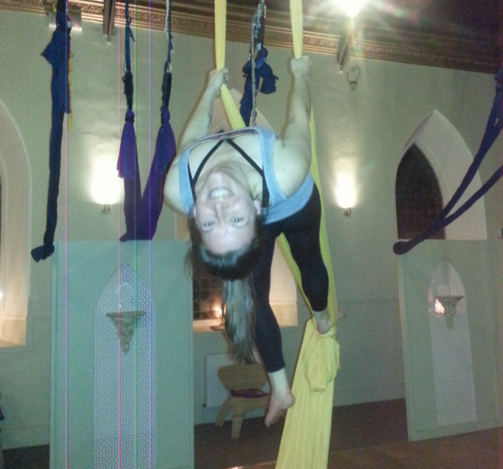 Aerial Silks, Heart Space Studio, Dundee