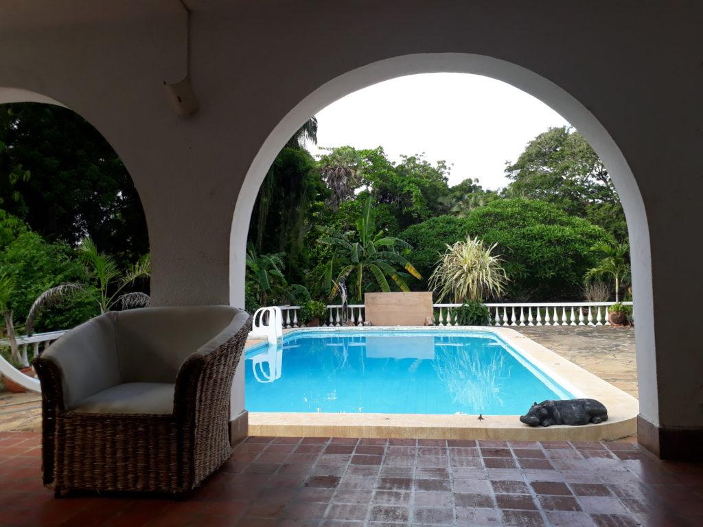 My friend's amazing house in Mombasa, Kenya